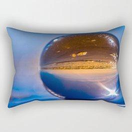 Golden sands Rectangular Pillow