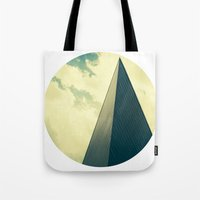 denver Tote Bags featuring denver by MARONEY