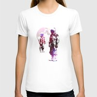 men T-shirts featuring Space Men by rubbishmonkey