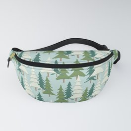 Winter Pines Fanny Pack