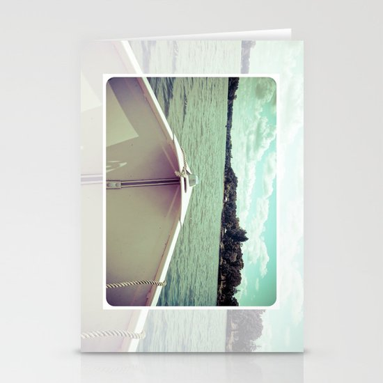 Sometime This Life, I'm Going to Sail Away Stationery Cards