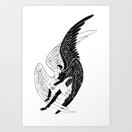 ineffable husbands Art Print