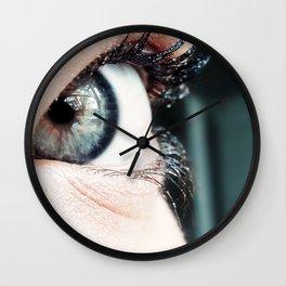 Eye 3 Wall Clock