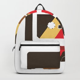 Retro Cassette Oldschool Backpack