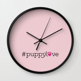 #puppylove Wall Clock