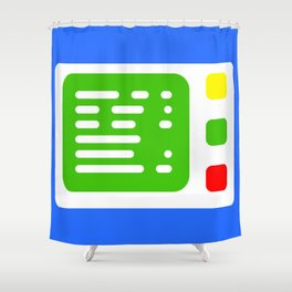 Beta One Command Base Shower Curtain