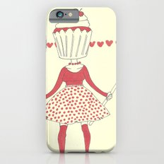 Cupcake girl iPhone 6s Slim Case