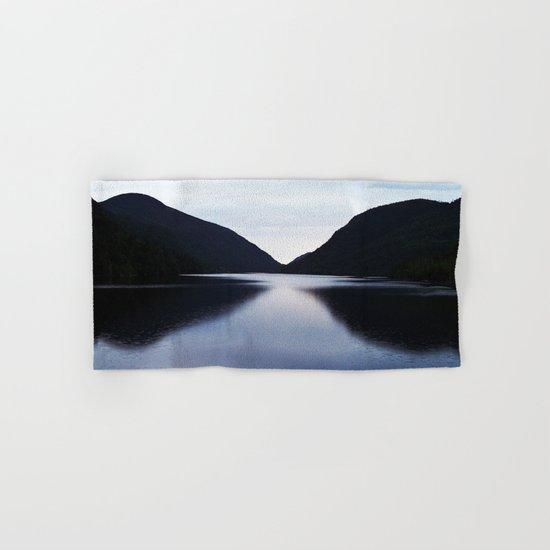Mountain Lake Reflection Hand & Bath Towel