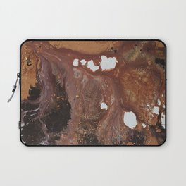 Copper abstract liquidity. Laptop Sleeve