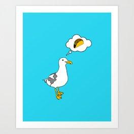 "Flock of Gerrys ""Gerry's Dream"" Art Print"