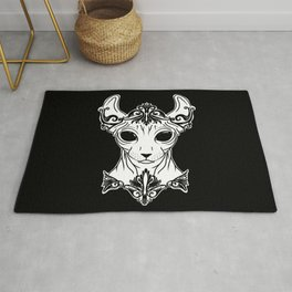 Elven Sphynx Kitten - Magical Elf Sphynx Cat - Hairless Rug
