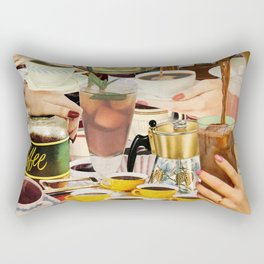 Wake Up and Smell the Coffee Rectangular Pillow