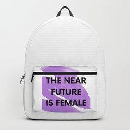The near future is female Backpack