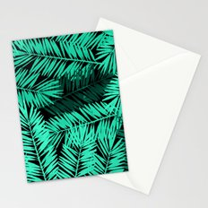 Tropical Palm Leaves II Stationery Cards