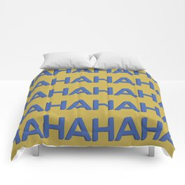 Laugh Out Loud Comforters