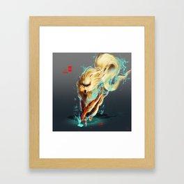 Spera'a Arcanine Framed Art Print
