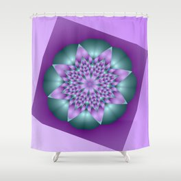 almost symmetrical -a- Shower Curtain