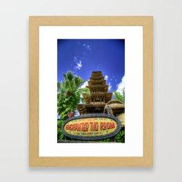 Tiki Tiki Tiki Tiki Tiki Phone... Framed Art Print