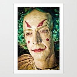 clown no. 1 Art Print
