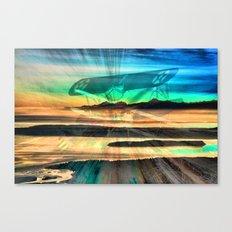 Stearman Sky Dancing Canvas Print
