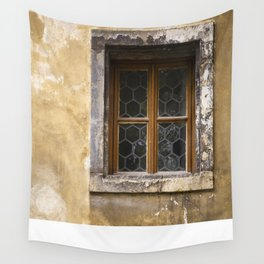 Mysterious Window II Wall Tapestry