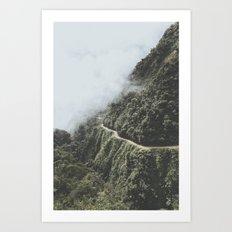 Death Road, Bolivia I Art Print