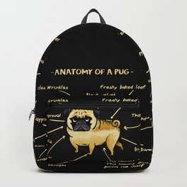 Anatomy of A Pug Backpack
