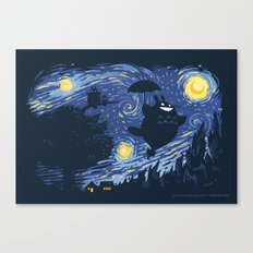 A Night for Spirits Canvas Print