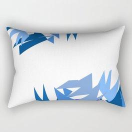 Fractal Destruction Rectangular Pillow