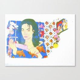 Curdled Canvas Print