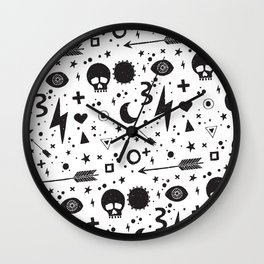Weapons of weariness Wall Clock