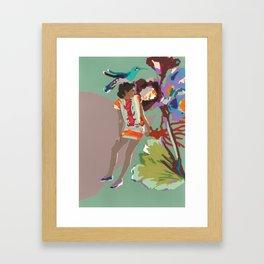 Maria de las Flores Framed Art Print