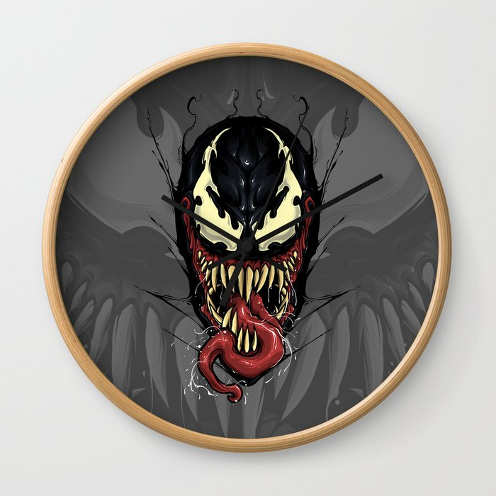 We're Venom Wall Clock