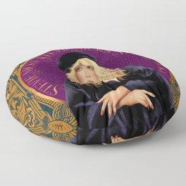 Stevie Nicks Tarot The High Priestess Floor Pillow
