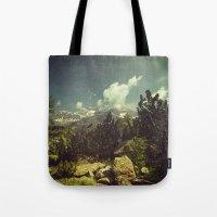 italian Tote Bags featuring Italian Mountains by Dirk Wuestenhagen Imagery