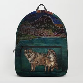 Wolf Love Backpack