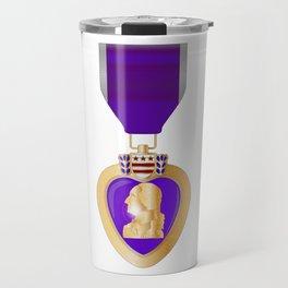 Purple Heart Medal Travel Mug