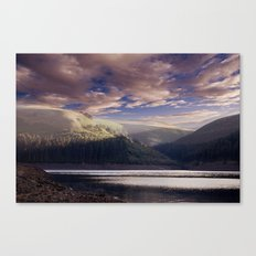 Dawn in the Valley Canvas Print