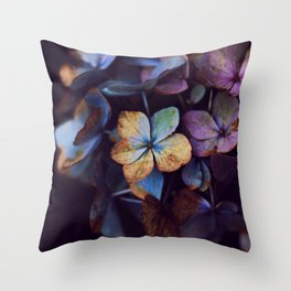 Hydragena Dream  Throw Pillow