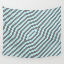 Symmetric diagonal stripes background 20 Wall Tapestry