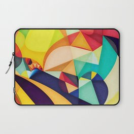 Poetry Geometry Laptop Sleeve