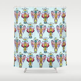 Kachina Butterfly 1 Shower Curtain