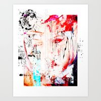 fault Art Prints featuring FAULT LINE by JAMES JAEGER