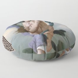 The Abduction of Psyche, Divine Love, Angel Floor Pillow