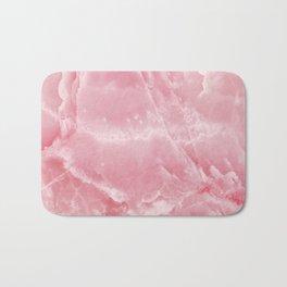 Pink Onyx Marble Bath Mat
