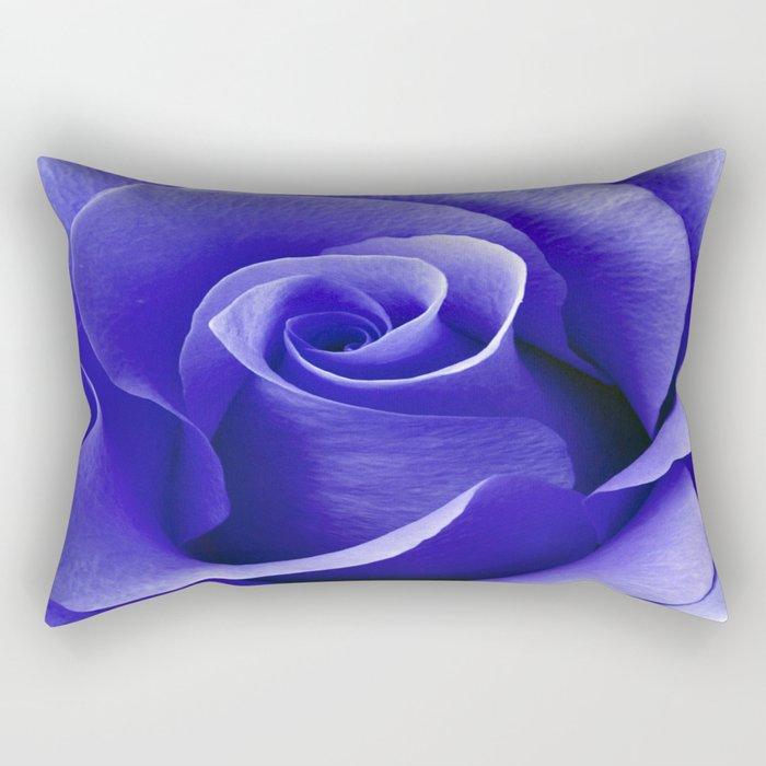 Blue ROSE Rectangular Pillow