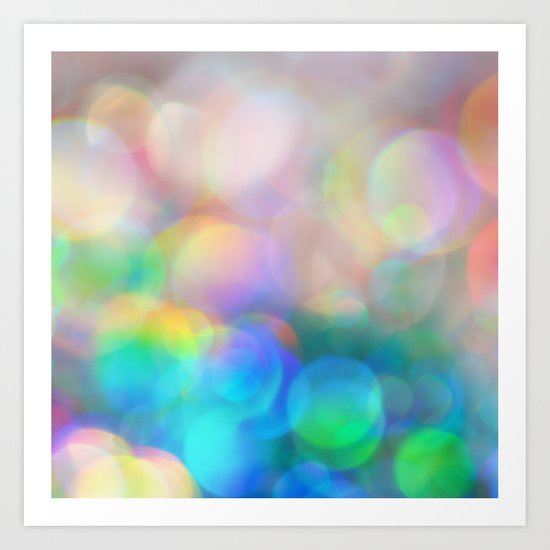 Color me Happy... Art Print