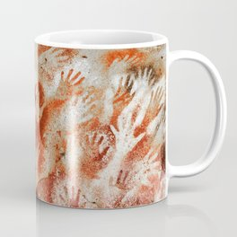 Cave Art Lascaux Hands Coffee Mug