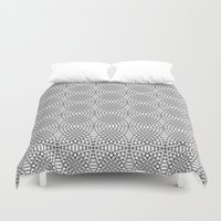illusion Duvet Covers featuring Illusion by Uriya Ganor