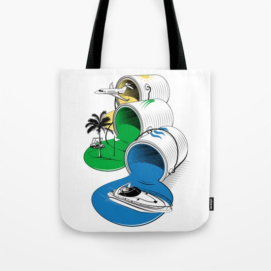 Luxury Paints Tote Bag